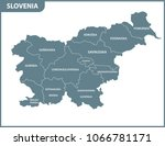 the detailed map of slovenia...
