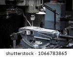 close up the drilling milling... | Shutterstock . vector #1066783865
