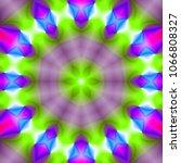 psychedelic background.... | Shutterstock . vector #1066808327