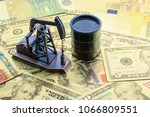 petroleum  petrodollar and... | Shutterstock . vector #1066809551