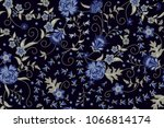 orient seamless pattern with...   Shutterstock .eps vector #1066814174