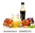 still life. fresh vegetables ...   Shutterstock . vector #106682141