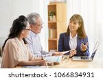 health insurance manager... | Shutterstock . vector #1066834931