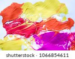 multicolored abstract texture... | Shutterstock . vector #1066854611