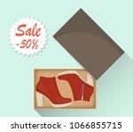 stylish modern women s high...   Shutterstock .eps vector #1066855715