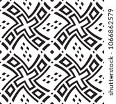 black and white geometric... | Shutterstock .eps vector #1066862579