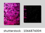 light pink vector layout for... | Shutterstock .eps vector #1066876004