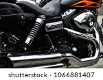 Harley Davidson Engine On Bike...