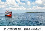 Tourist Speed Boat At Andaman...