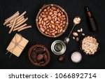 argan products for beauty... | Shutterstock . vector #1066892714