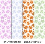 set of seamless texture of... | Shutterstock .eps vector #1066898489