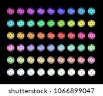 Set Of Different Colorful...