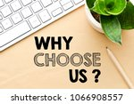 why choose us  | Shutterstock . vector #1066908557