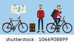 illustration vector character... | Shutterstock .eps vector #1066908899