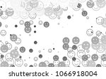 light silver  gray vector... | Shutterstock .eps vector #1066918004