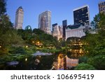 Central Park And Manhattan...
