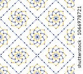 traditional portugal azulejos... | Shutterstock .eps vector #1066978721