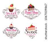 vector logo design template... | Shutterstock .eps vector #1067039867