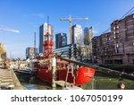 rotterdam  the netherlands  ... | Shutterstock . vector #1067050199