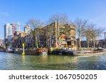 rotterdam  the netherlands  ... | Shutterstock . vector #1067050205