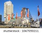 rotterdam  the netherlands  ... | Shutterstock . vector #1067050211