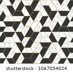 Seamless Marble Vector Texture. ...