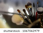makeup brushes  close up | Shutterstock . vector #1067062979