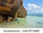 granite rocky beaches on... | Shutterstock . vector #1067071889