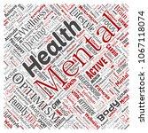 vector conceptual mental health ... | Shutterstock .eps vector #1067118074