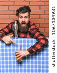 barman advice concept. barman... | Shutterstock . vector #1067134931