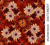 print for silk  calico and home ... | Shutterstock . vector #1067148257