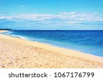 ocean shore  sandy hook  nj at... | Shutterstock . vector #1067176799