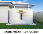 Large Rain Water Tank In...