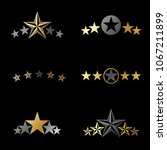 stars ancient emblems elements... | Shutterstock .eps vector #1067211899