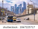 moscow  russia   april  8  2018 ... | Shutterstock . vector #1067225717