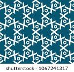 seamless modern vector...   Shutterstock .eps vector #1067241317