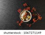 tofu pudding douhua  taiwan... | Shutterstock . vector #1067271149