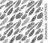 vector seamless pattern with... | Shutterstock .eps vector #1067279321