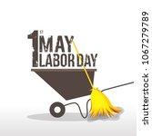 illustration for labor day | Shutterstock .eps vector #1067279789