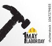 illustration for labor day | Shutterstock .eps vector #1067279855