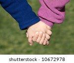 hand in hand | Shutterstock . vector #10672978