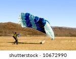 parachute landed | Shutterstock . vector #10672990