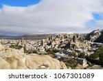 goreme after snowfall  district ... | Shutterstock . vector #1067301089