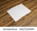 blank catalog and book  ... | Shutterstock . vector #1067316404