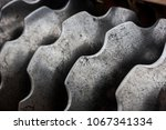 sheets of tractor for... | Shutterstock . vector #1067341334