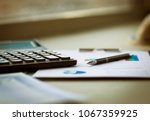business of financial analysis... | Shutterstock . vector #1067359925