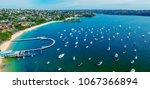 balmoral beach  sydney.... | Shutterstock . vector #1067366894
