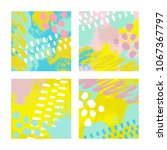vector illustration  set of... | Shutterstock .eps vector #1067367797