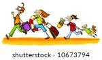 holiday comics series number 1 | Shutterstock . vector #10673794