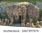 goa gajah  ubud  bali | Shutterstock . vector #1067397074